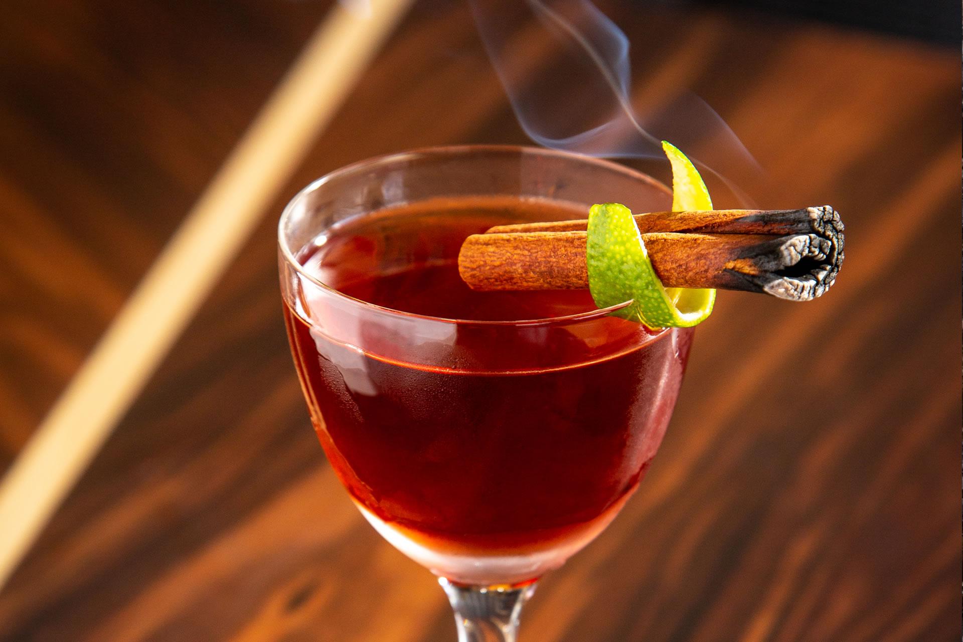 Tiki Nigroni cocktail at Copper & Salt Northwest Kitchen
